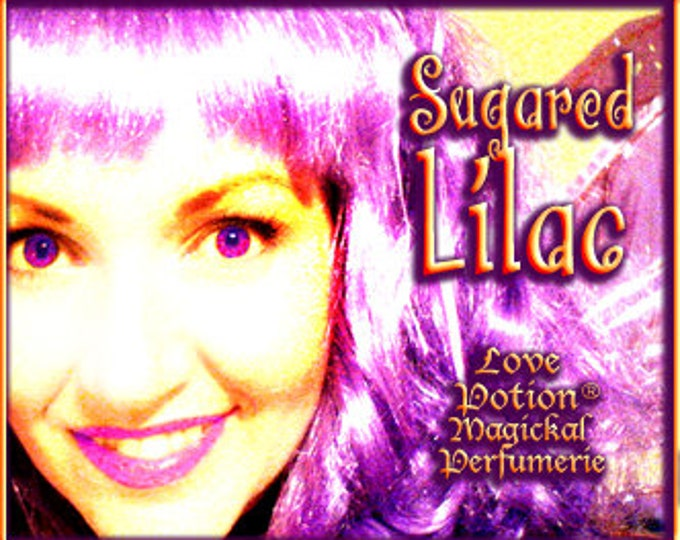 THREEBIES! Lot #852 Sugared Lilac, Magnolia, Wisteria - Black Magic Friday Specials! Love Potion Magickal Perfumerie