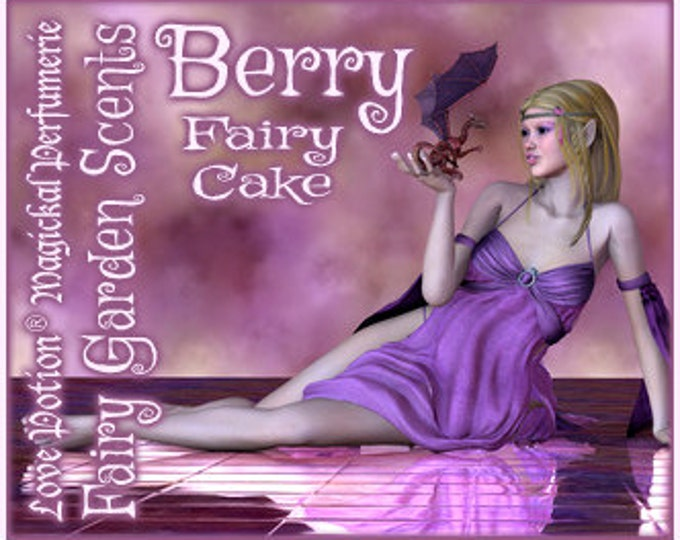 Fairy Cake: Berry - Sweet & Youthful Layerable Perfume - Love Potion Magickal Perfumerie