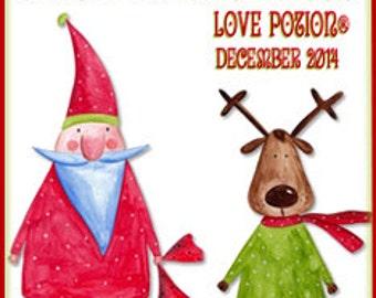 THREEBIES! Lot #725: Nutcracker Sweet, Bad Elf, Reindeer Droppings