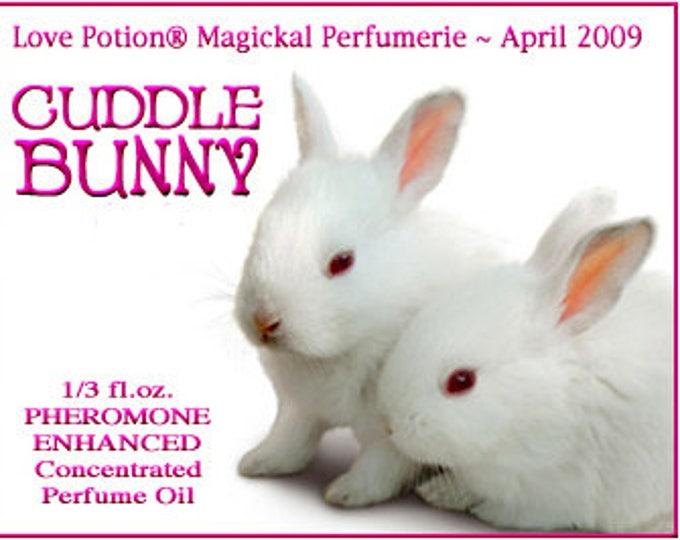 Cuddle Bunny Perfume w/ Cuddle Bunny Phero Blend - Pheromone Enhanced Perfume for Women - Love Potion Magickal Perfumerie