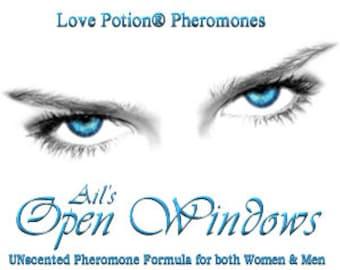 Open Windows - UNscented Pheromone Blend for Men and Women- Love Potion Magickal Perfumerie