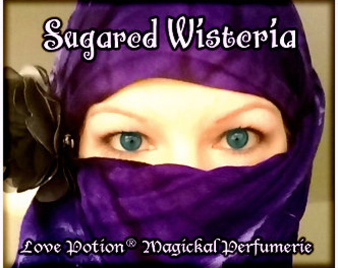 THREEBIES! Lot #819 Sugared Daffodil, Lillies, Wisteria - Black Magic Friday Specials! Love Potion Magickal Perfumerie