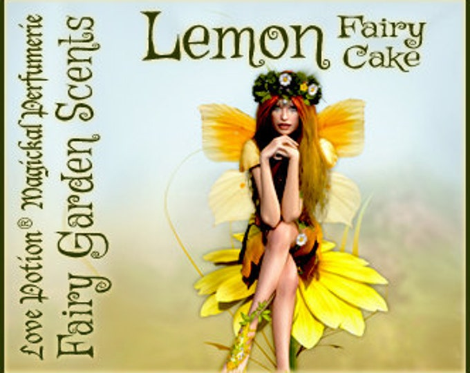 Fairy Cake: Lemon - Sweet & Youthful Layerable Perfume - Love Potion Magickal Perfumerie