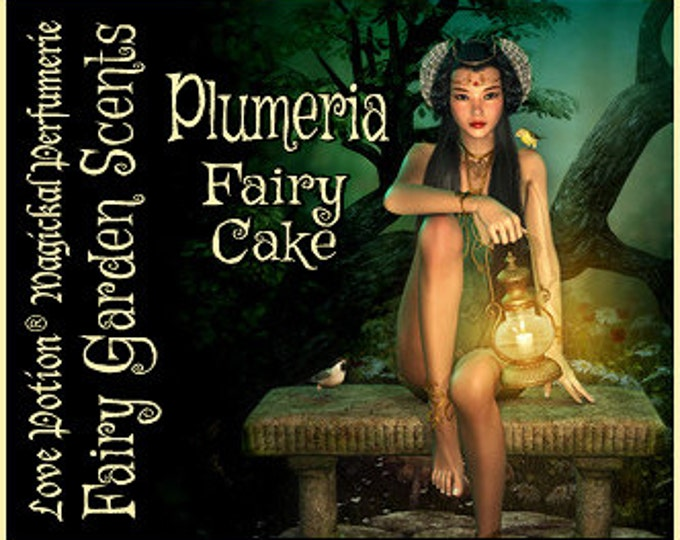 Fairy Cake: Plumeria - Sweet & Youthful Layerable Perfume - Love Potion Magickal Perfumerie