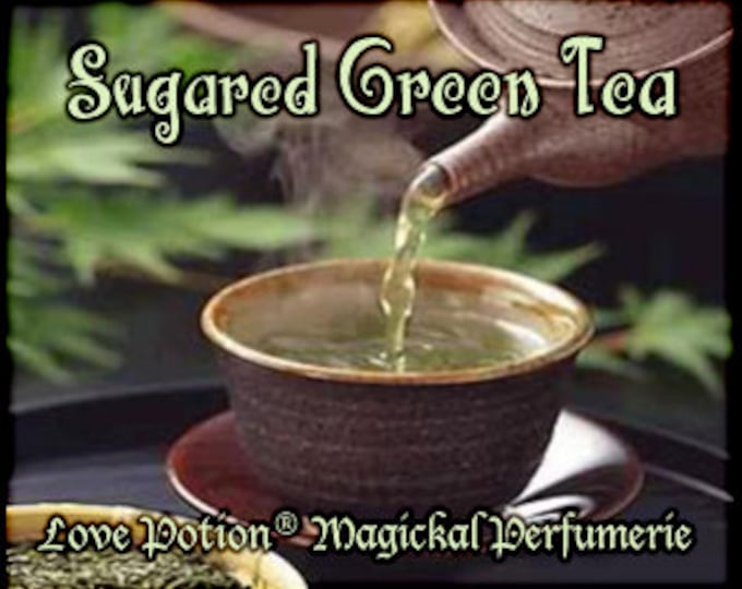 THREEBIES! Lot #857 Sugared Green Tea, Pine Needles, Bayberry - Black Magic Friday Specials! Love Potion Magickal Perfumerie