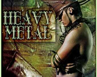 Heavy Metal w/ Hunter Trapper - Pheromone Enhanced Fragrance for Men - Love Potion Magickal Perfumerie