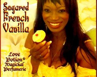 THREEBIES! Lot #820 Sugared French Vanilla, Banana, Hay - Black Magic Friday Specials! Love Potion Magickal Perfumerie