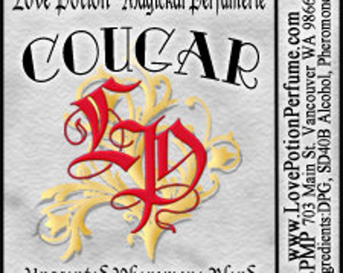 PHEROTINE! Cougar Potion for Women ~ Pheromone Blend - Limited Ed UNscented Pheromone Trials by Love Potion Magickal Perfumerie
