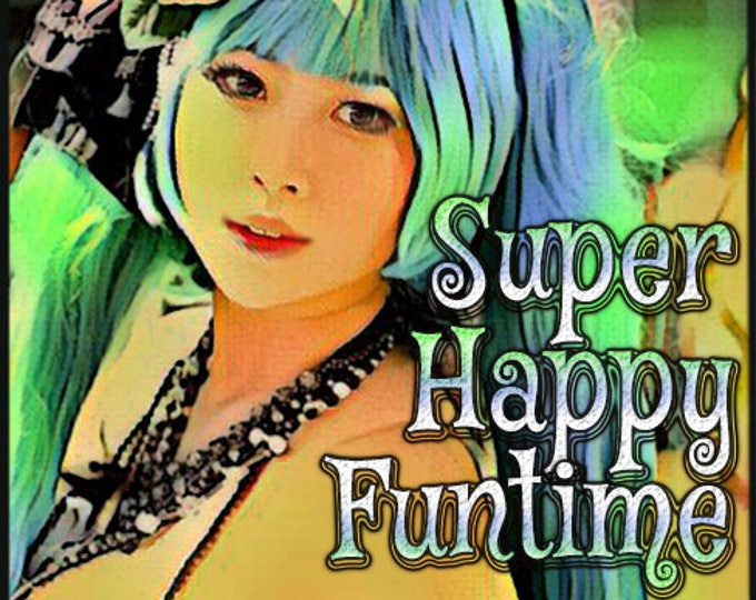 Super Happy Funtime w/ Levitation - Pheromone Enhanced Perfume for Women - Love Potion Magickal Perfumerie - Pherotine 2018