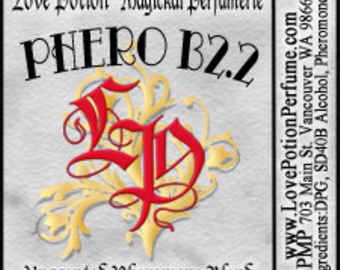 PHEROTINE! Phero B2.2 ~ Unisex/Male Pheromone Blend - Limited Ed UNscented Pheromone Trials by Love Potion Magickal Perfumerie