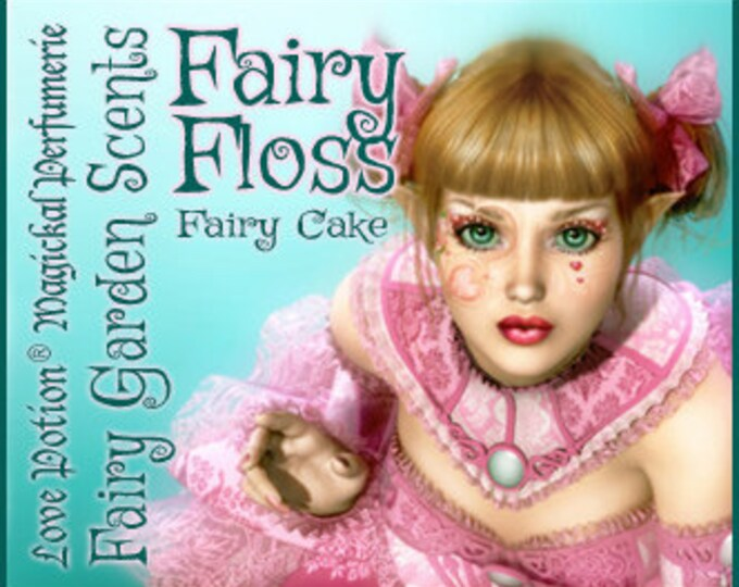 Fairy Cake: Fairy Floss - Sweet & Youthful Layerable Perfume - Love Potion Magickal Perfumerie