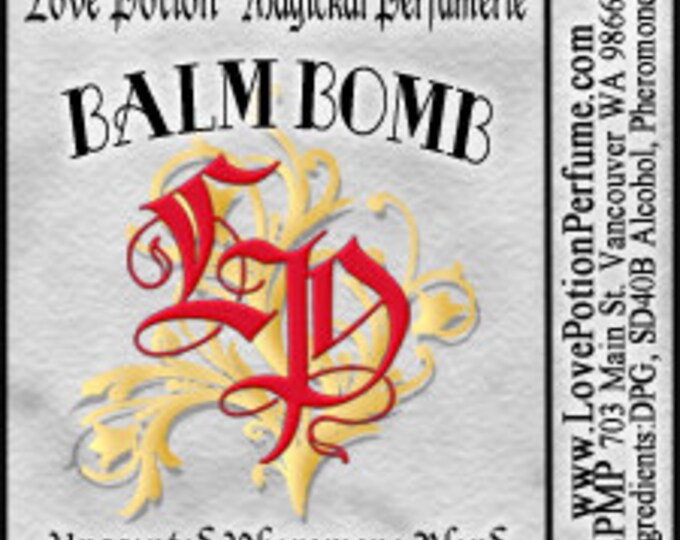 PHEROTINE! Balm Bomb for Women ~ Pheromone Blend - Limited Ed UNscented Pheromone Trials by Love Potion Magickal Perfumerie