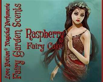 Fairy Cake: Raspberry  - Sweet & Youthful Layerable Perfume - Love Potion Magickal Perfumerie