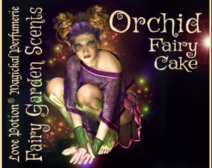 Fairy Cake: Orchid - Sweet & Youthful Layerable Perfume - Love Potion Magickal Perfumerie