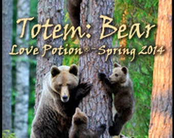 THREEBIES! Lot #622 - Totems Bear and Chick, Nutcracker Sweet - Love Potion Magickal Perfumerie
