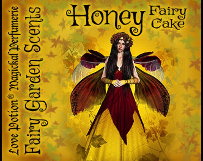 Fairy Cake: Honey - Sweet & Youthful Layerable Perfume - Love Potion Magickal Perfumerie