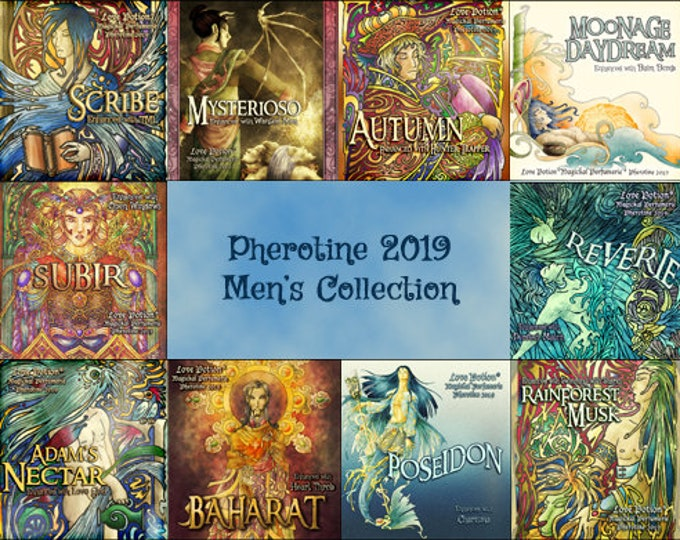 MEN'S PHEROTINE 2019 COLLECTION - Sets and Specials - Love Potion Magickal Perfumerie