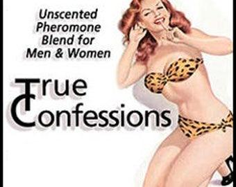True Confessions - UNscented Pheromone Blend - for Men and Women -  Love Potion Magickal Perfumerie