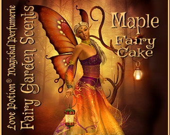 Fairy Cake: Maple - Sweet & Youthful Layerable Perfume - Love Potion Magickal Perfumerie