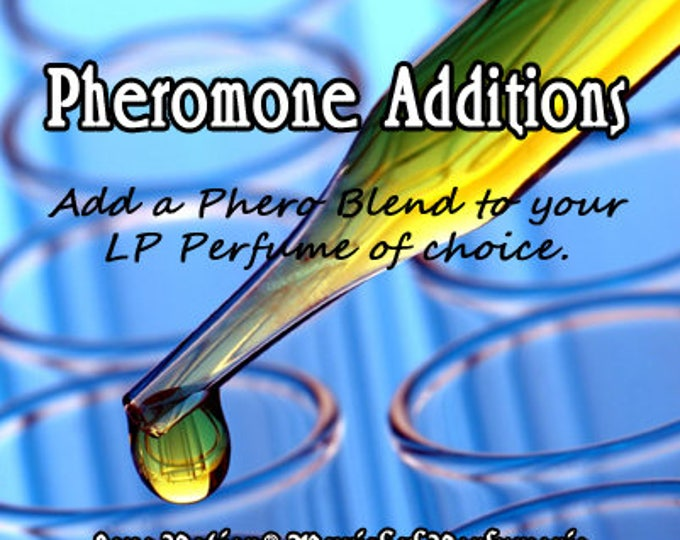 ADD PHEROMONES to any Love Potion Perfume of your choice! ~ Love Potion Magickal Perfumerie