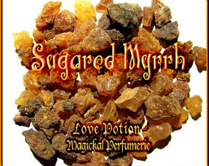 THREEBIES! Lot #859 Sugared Myrrh, Hay, Banana - Black Magic Friday Specials! Love Potion Magickal Perfumerie