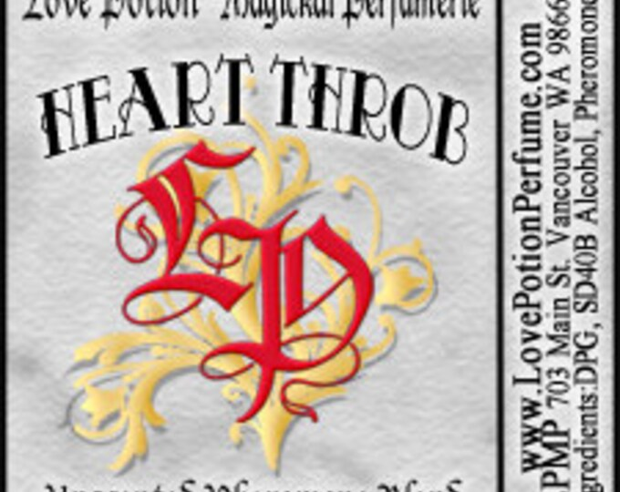PHEROTINE! Heart Throb for Men ~ Pheromone Blend - Limited Ed UNscented Pheromone Trials by Love Potion Magickal Perfumerie