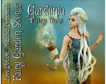 Fairy Cake: Gardenia - Sweet & Youthful Layerable Perfume - Love Potion Magickal Perfumerie