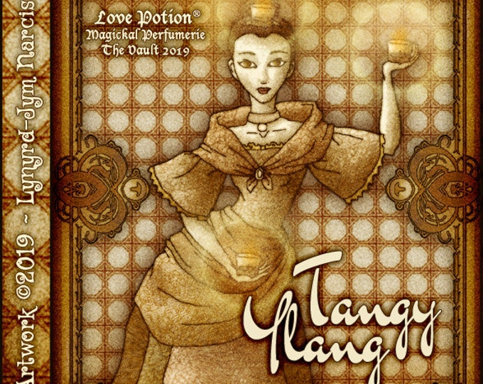 Tangy Ylang - Vault Collection 2019 - Limited Edition Fragrance for Women - Love Potion Magickal Perfumerie