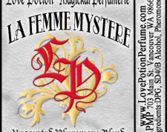PHEROTINE! La Femme Mystere for Women ~ Pheromone Blend - Limited Ed UNscented Pheromone Trials by Love Potion Magickal Perfumerie