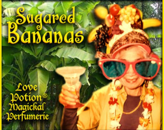 THREEBIES! Lot #801 Sugared Almond, Banana, Hay - Black Magic Friday Specials! Love Potion Magickal Perfumerie