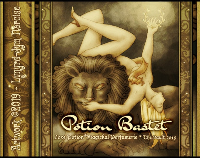 Potion Bastet w/ Aja - Vault Collection 2019 - Limited Edition Fragrance for Women - Love Potion Magickal Perfumerie