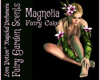 Fairy Cake: Magnolia - Sweet & Youthful Layerable Perfume - Love Potion Magickal Perfumerie
