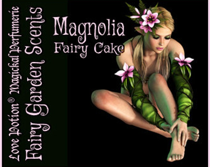 Fairy Cake: Magnolia - Sweet & Youthful Layerable Perfume - Love Potion Magickal Perfumerie