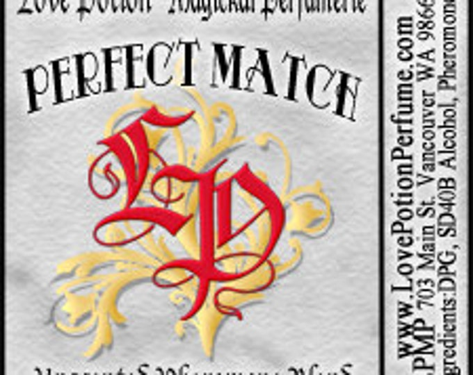 PHEROTINE! Perfect Match ~ Unisex Pheromone Blend - Limted Ed UNscented Pheromone Trials by Love Potion Magickal Perfumerie