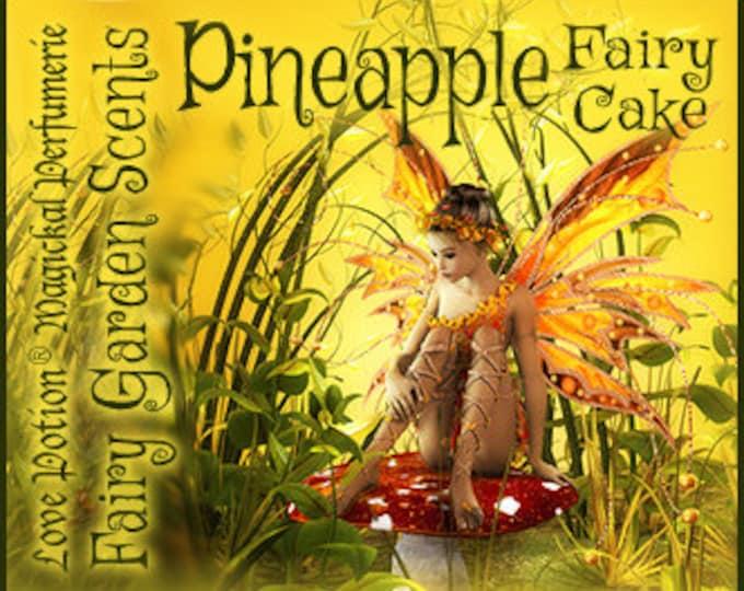 Fairy Cake: Pineapple - Sweet & Youthful Layerable Perfume - Love Potion Magickal Perfumerie