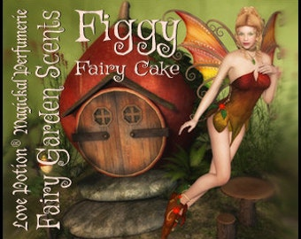 Fairy Cake: Figgy  - Sweet & Youthful Layerable Perfume - Love Potion Magickal Perfumerie