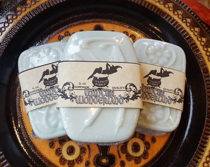 Winter Wonderland - Goat Milk Infused Bar Soap - Love Potion Magickal Perfumerie