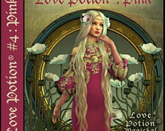 Love Potion: PINK - for Women - Handcrafted Perfume - Love Potion Magickal Perfumerie