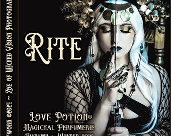 Rite ~ Autumn 2021 ~ Hand Crafted Fragrance for Everyone - Love Potion Magickal Perfumerie