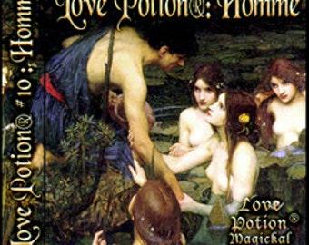 Love Potion: Homme - for Men / Unisex - Handcrafted Fragrance - Love Potion Magickal Perfumerie