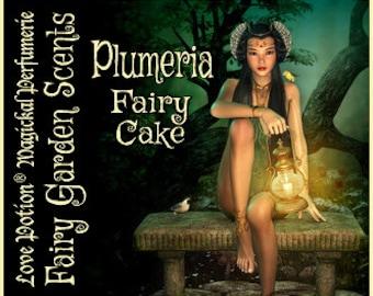 Fairy Cake: Plumeria - Sweet & Youthful Layerable Perfume - Love Potion Magickal Perfumerie