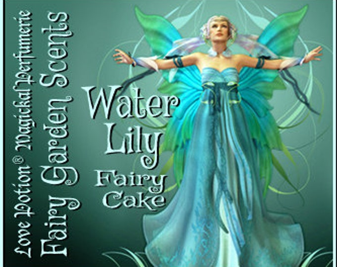 Fairy Cake: Water Lily - Sweet & Youthful Layerable Perfume - Love Potion Magickal Perfumerie