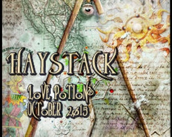 Haystack - Handcrafted Perfume for Women - Love Potion Magickal Perfumerie - Halloween 2015