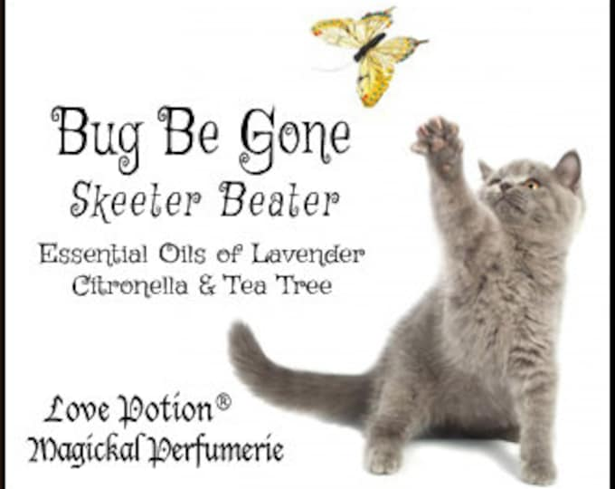 Bug Be Gone - Skeeter Beater - Essential Oil Blend - Love Potion Magickal Perfumerie - Private Edition