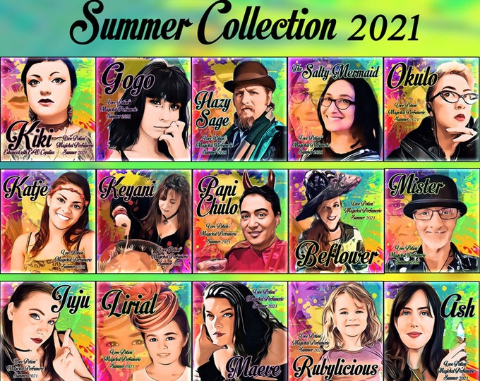 Summer 2021 Collection - Sets & Specials! - Love Potion Magickal Perfumerie