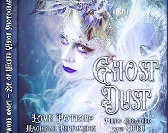 Ghost Dust w/ Open Windows ~ Autumn 2021 ~ Phero Enhanced Fragrance for Everyone - Love Potion Magickal Perfumerie