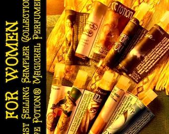 Best Selling Sampler Set for Women - Newbie Special! - Love Potion Magickal Perfumerie