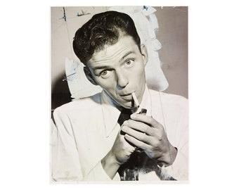 Frank Sinatra - 1944 - Vintage Historical Photo