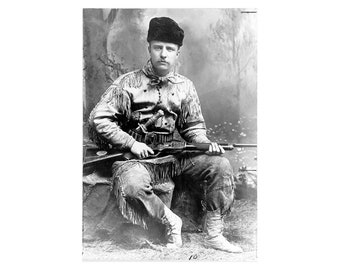 Theodore Roosevelt - 1885 - Vintage Historical Photo