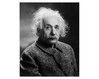 Albert Einstein - 1947 - Vintage Historical Photo